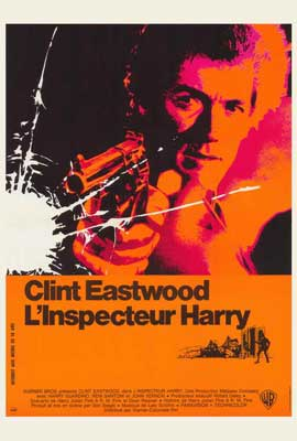Dirty Harry - 27 x 40 Movie Poster - French Style A