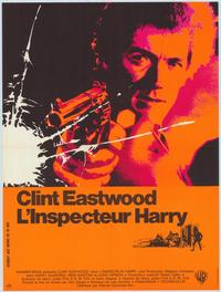 Dirty Harry - 47 x 62 Movie Poster - French Style A