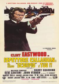 Dirty Harry - 39 x 55 Movie Poster - Italian Style A