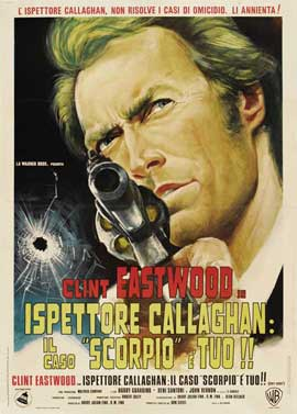 Dirty Harry - 11 x 17 Movie Poster - Italian Style E