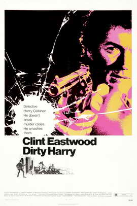Dirty Harry - 11 x 17 Movie Poster - Style H