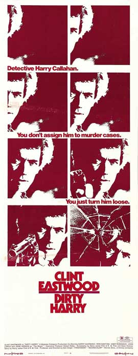 Dirty Harry - 14 x 36 Movie Poster - Insert Style A