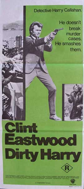 Dirty Harry - 14 x 36 Movie Poster - Insert Style B