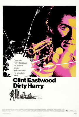 Dirty Harry - 27 x 40 Movie Poster - Style H