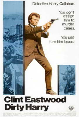 Dirty Harry - 27 x 40 Movie Poster - Style I
