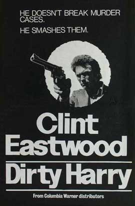 Dirty Harry - 11 x 17 Movie Poster - Style K