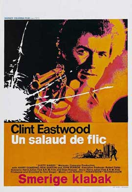 Dirty Harry - 27 x 40 Movie Poster - Belgian Style A