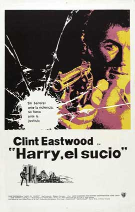Dirty Harry - 11 x 17 Movie Poster - Peurto Rico Style A