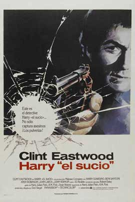 Dirty Harry - 27 x 40 Movie Poster - Spanish Style A