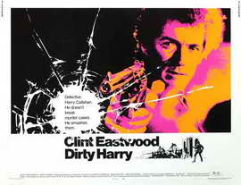 Dirty Harry - 22 x 28 Movie Poster - Half Sheet Style A