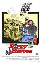 Dirty Heroes - 27 x 40 Movie Poster - Style A