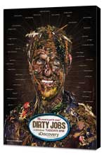 Dirty Jobs (TV) - 11 x 17 TV Poster - Style A - Museum Wrapped Canvas