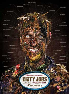 Dirty Jobs (TV) - 11 x 17 TV Poster - Style A