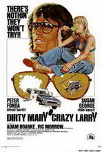 Dirty Mary Crazy Larry - 27 x 40 Movie Poster - Style A