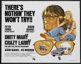 Dirty Mary Crazy Larry - 27 x 40 Movie Poster - Style C