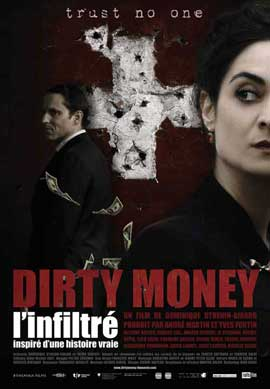 Dirty Money, l'infiltre - 11 x 17 Movie Poster - French Style A