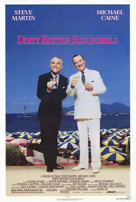 Dirty Rotten Scoundrels - 27 x 40 Movie Poster