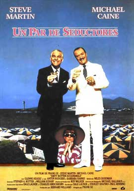 Dirty Rotten Scoundrels - 27 x 40 Movie Poster - Spanish Style A
