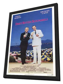 Dirty Rotten Scoundrels - 27 x 40 Movie Poster - Style A - in Deluxe Wood Frame