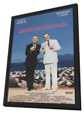 Dirty Rotten Scoundrels - 11 x 17 Movie Poster - Style A - in Deluxe Wood Frame