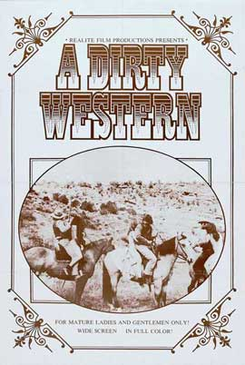 Dirty Western - 11 x 17 Movie Poster - Style A