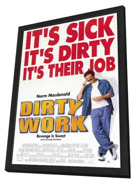 Dirty Work - 11 x 17 Movie Poster - Style A - in Deluxe Wood Frame