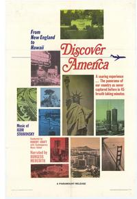 Discover America - 11 x 17 Movie Poster - Style A