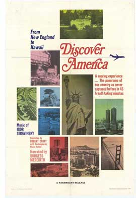 Discover America - 27 x 40 Movie Poster - Style A