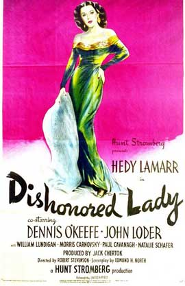 Dishonored Lady - 11 x 14 Movie Poster - Style A
