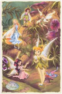 Disney Fairies - Family Poster - 22 x 34 - Style A