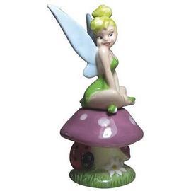 Disney Fairies - Tinker Bell Tink on Mushroom Salt and Pepper Shaker Set