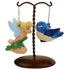Disney Fairies - Tinker Bell & Bird on Tree Salt Pepper Set