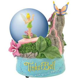 Disney Fairies - Tinker Bell Waterfall Water Globe