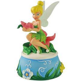 Disney Fairies - Tinker Bell Flower Bouquet Musical Statue