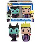 Disney Material - Maleficent & Evil Queen Mini Pop! Vinyl Figure 2-Pack