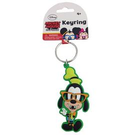 Disney Material - Goofy Nerds Soft Touch Key Chain