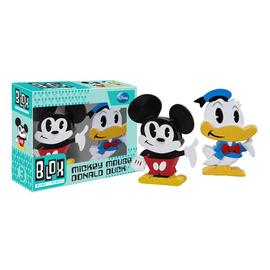 Disney Material - Mickey Mouse and Donald Duck Mini-Blox Vinyl Figure 2-Pack