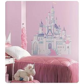 Disney Material - Princess Castle Peel and Stick Giant Wall Applique