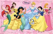 Disney Princesses - Art Poster - 22 x 34 - Style B