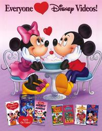 Disney Video Posters - 27 x 40 Movie Poster - Style B