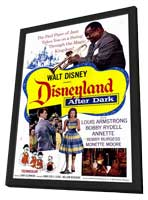 Disneyland After Dark - 11 x 17 Movie Poster - Style A - in Deluxe Wood Frame