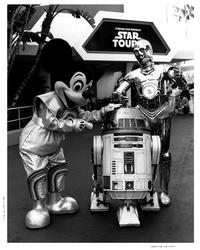 Disneyland Star Tours - 8 x 10 B&W Photo #2