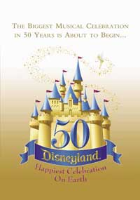 Disney's Happiest Celebration on Earth - 11 x 17 Music Poster - Style A