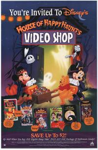Disney's House of Happy Haunts Video Shop Poster - 27 x 40 Movie Poster - Style A