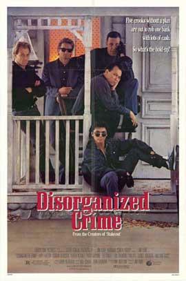 Disorganized Crime - 11 x 17 Movie Poster - Style B