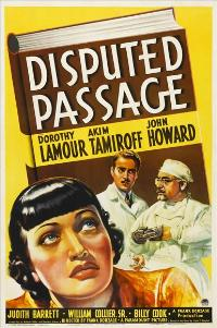 Disputed Passage - 11 x 17 Movie Poster - Style A