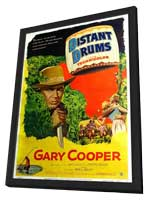 Distant Drums - 11 x 17 Movie Poster - Style B - in Deluxe Wood Frame