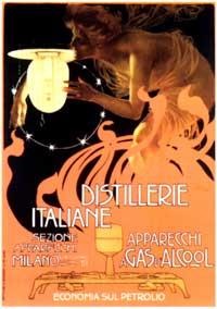 Distillerie Italiane - 11 x 17 Movie Poster - Italian Style A
