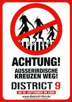 District 9 - 27 x 40 Movie Poster - German Style B
