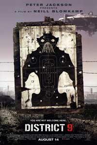 District 9 - 43 x 62 Movie Poster - Bus Shelter Style A
